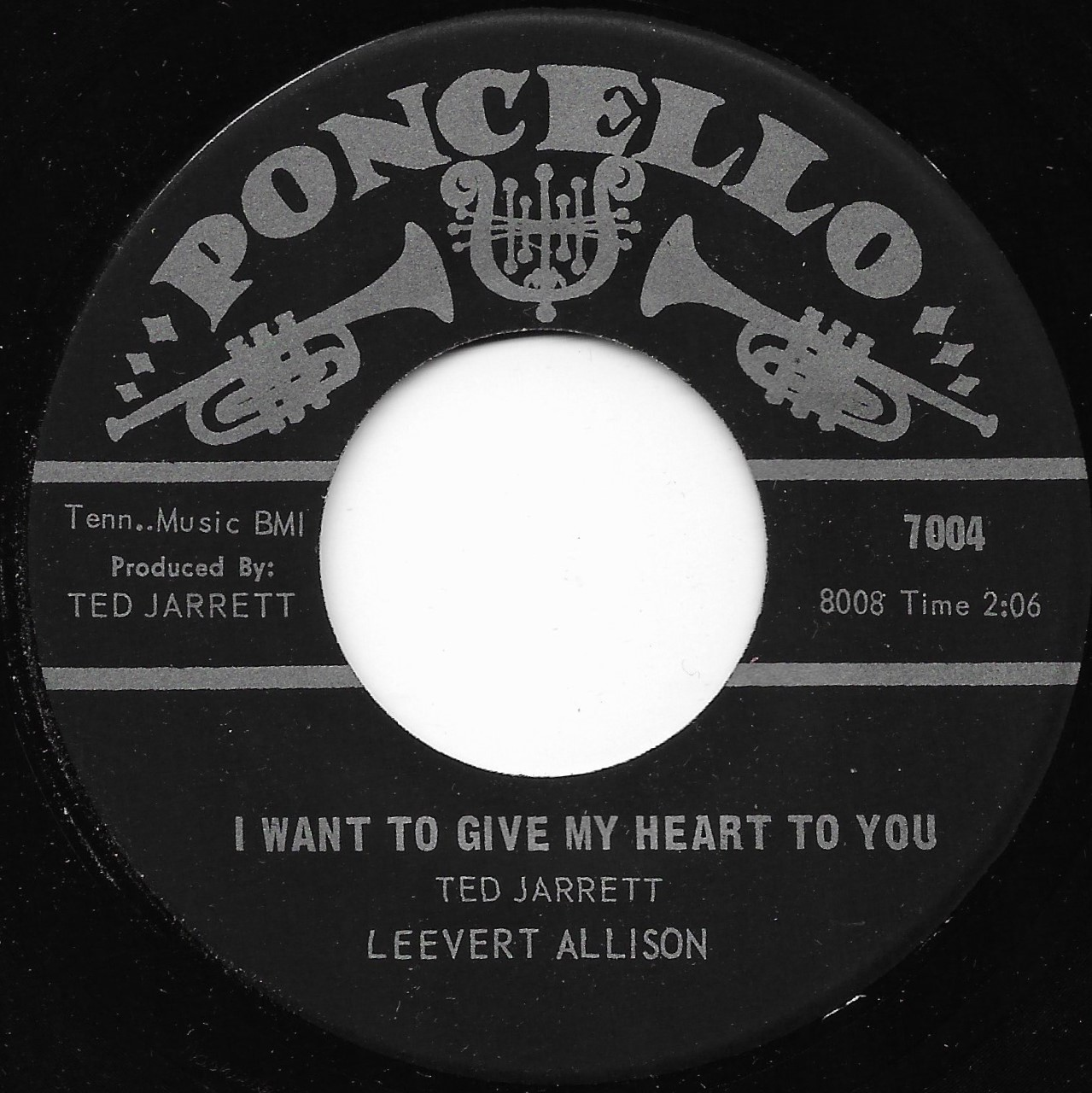 Leevert Allison I Want To Give My Heart To You Im Going Home